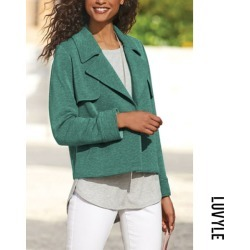 Green Fashion tailored commute temperament small suit