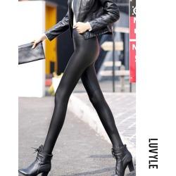 Black Long Sheath Plain Jeans