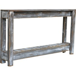 Weathered Gray Console 46""