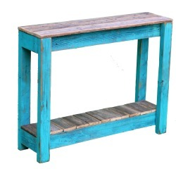 Turquoise Combo Console 36 Inch