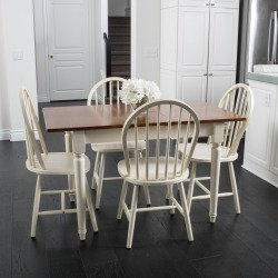 Gates 5-piece Spindle Wood Dining Set with Leaf Extension found on Bargain Bro Philippines from Facebook Inc for $380.10
