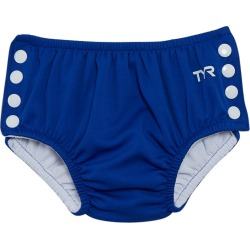 TYR Baby Snap Swim Diaper - Blue Small 0-12 Months - Swimoutlet.com
