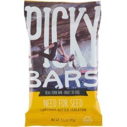 Picky Bars The Need For Seed Energy Bar Single - Sunflower Butter Sensation - Swimoutlet.com