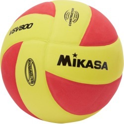 Mikasa Sports Usa Vsv800 Series Squish Volleyball - Yellow/Red 5 - Swimoutlet.com found on Bargain Bro Philippines from Swim Outlet for $11.69
