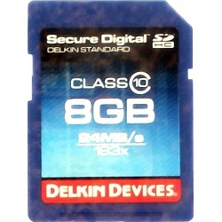 Delkin Devices 8Gb Pro Class 10 Sdhc Memory Card - Swimoutlet.com