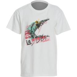Grom Boys' Mental Surf T-Shirt Big Kid - White Small 6-7 Little Kid Big Cotton - Swimoutlet.com