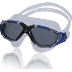 Aqua Sphere Vista Mask Smoke - Smoke/Trans Dark Gray Blue - Swimoutlet.com