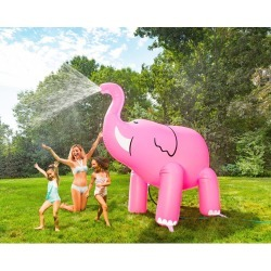 Big Mouth Toys Elephant Yard Sprinkler - Pink 6+ Feet Tall - Swimoutlet.com found on Bargain Bro Philippines from Swim Outlet for $49.99