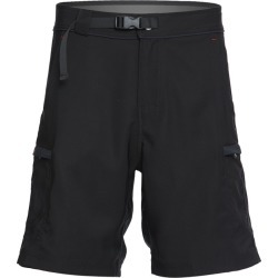 """Level Six Men's 20"""" Canyon Guide Expedition Weight Short - Black 34 Polyester - Swimoutlet.com"""