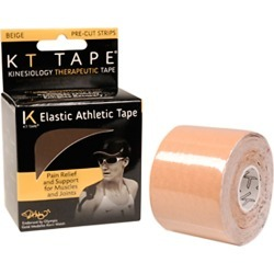 Kt Tape Kinesiology Athletic Tape - Beige Cotton - Swimoutlet.com