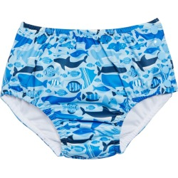 I Play. By Green Sprouts Boys' Undersea Reusable Swim Diaper - Blue 12 Months - Swimoutlet.com