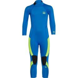 Billabong 3/2 Furnace Absolute Gbs Backzip Wetsuit - Blue 2 - Swimoutlet.com