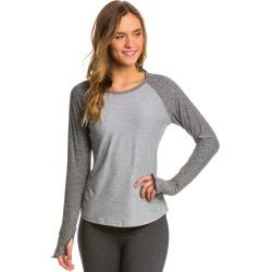 The North Face Women's Motivation L/S Shirt - Monument Grey Heather/Asphalt Heather Xl - Swimoutlet.com