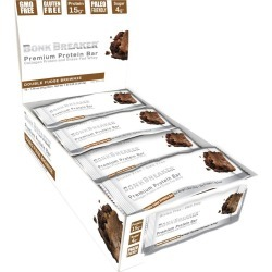 Bonk Breaker Premium Protein Bars 12 Pack - Double Fudge Brownie - Swimoutlet.com