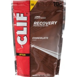 Clif Bar Recovery Protein Drink Mix Pouches - Chocolate Pouch - Swimoutlet.com