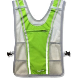 Roadnoise Long Haul Vest With Speakers - Lime Green X-Small/Small Polyester - Swimoutlet.com
