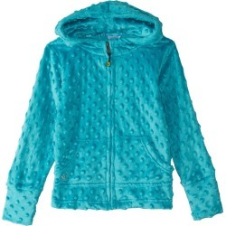 Limeapple Girls' Cuddle Bubble Hoodie Little Kid/Big Kid - Turquoise 4 Polyester - Swimoutlet.com