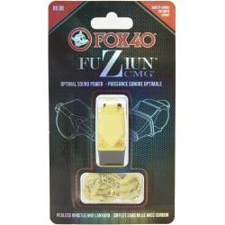 Fox 40 Fuziun Cmg Lifeguard Whistle W/ Lanyard - Yellow Plastic - Swimoutlet.com