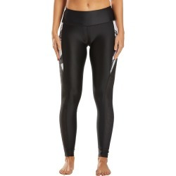 Body Glove Active Aloha Black White Hybrid Swim Tight - Small - Swimoutlet.com