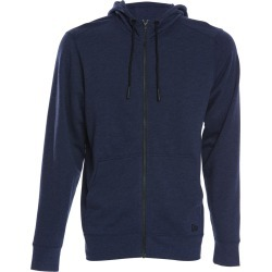 New Era Tri-Blend Fleece Full-Zip Hoodie - True Navy Heather X-Small Cotton/Polyester/Rayon - Swimoutlet.com found on Bargain Bro Philippines from Swim Outlet for $38.95