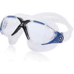 Aqua Sphere Vista Mask - Clear/Trans Dark Gray Blue Synthetic/Rubber - Swimoutlet.com