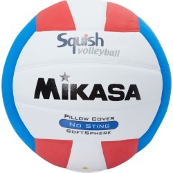 Mikasa Sports Usa Red/White/Blue Squish Volleyball - 5 - Swimoutlet.com found on Bargain Bro Philippines from Swim Outlet for $17.99