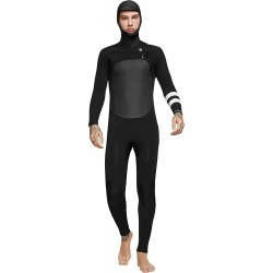 Hurley Advantage Plus 5/3 Hooded Wetsuit - Black Xl Short - Swimoutlet.com