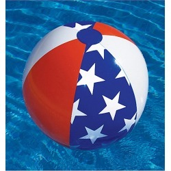 Swimline Americana Beach Ball - Swimoutlet.com found on Bargain Bro Philippines from Swim Outlet for $2.21