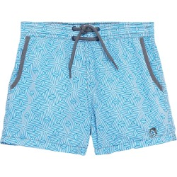 Mr. swim Boys' Maze Swim Trunk Toddler/Little/Big Kid - Light Blue 4T - Swimoutlet.com