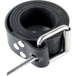 Cressi Elastic Marseillaise Weight Belt - Black Rubber - Swimoutlet.com