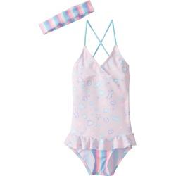 Platypus Australia Girls' Skirted Swimsuit Baby - Sherbet Shore 1 - Swimoutlet.com