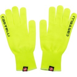 Castelli Corridore Gloves - Yellow Fluo Small/Medium Polyester - Swimoutlet.com found on Bargain Bro Philippines from Swim Outlet for $18.74