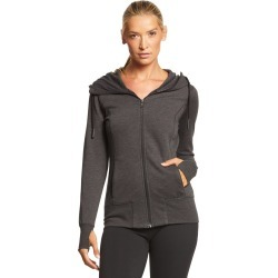 New Era Women's Tri-Blend Fleece Full-Zip Hoodie - Black Heather Small Cotton/Polyesterrayon - Swimoutlet.com found on Bargain Bro Philippines from Swim Outlet for $38.95