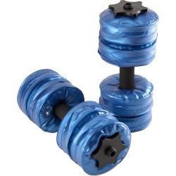 Aquabells Mini Dumbbells - Blue Pvc - Swimoutlet.com
