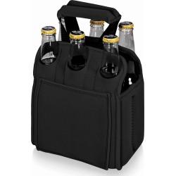 Picnic Time Six Pack Cooler - Black - Swimoutlet.com