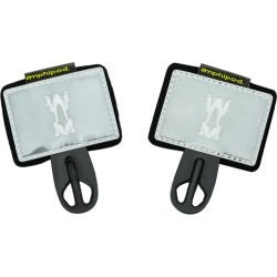 """Amphipod Reflective Race Number Tabs For 1.5"""" - 2"""" Belts White - Swimoutlet.com"""