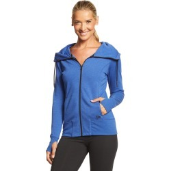New Era Women's Tri-Blend Fleece Full-Zip Hoodie - Royal Heather Small Cotton/Polyesterrayon - Swimoutlet.com found on Bargain Bro Philippines from Swim Outlet for $38.95