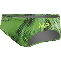 Mp Michael Phelps Men's Mesa Brief Swimsuit - Green 34 Polyester - Swimoutlet.com found on Bargain Bro India from Swim Outlet for $35.99