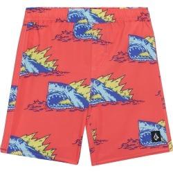 Volcom Boys' Duhh Dunt Swim Trunks Toddler - Neon Pink 7X Polyester/Elastane - Swimoutlet.com found on Bargain Bro Philippines from Swim Outlet for $26.99
