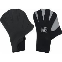 Body Glove Power Paddle Web Glove - Black Medium - Swimoutlet.com