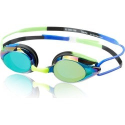 Arena Tracks Mirror Goggle - Blue-Blue- Green Blue/Blue/ - Swimoutlet.com found on Bargain Bro Philippines from Swim Outlet for $18.00