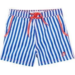 Mr. swim Boys' Cabana Stripe Swim Trunk Toddler/Little/Big Kid - Royal 4T - Swimoutlet.com