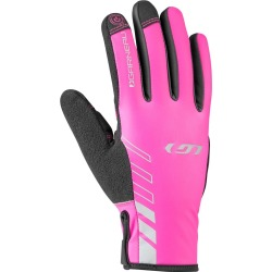 Louis Garneau Women's Rafale 2 Cycling Glove - Black/Pink Large Size Large - Swimoutlet.com found on Bargain Bro Philippines from Swim Outlet for $39.99