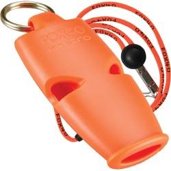 Fox 40 Micro Whistle With Breakaway Lanyard - Orange - Swimoutlet.com