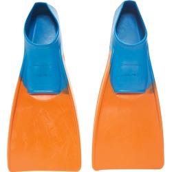 Dolfin Swim Fins - Orange 1/3 100% Rubber - Swimoutlet.com