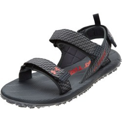 Under Armour Men's Fat Tire Sandals - Anthracite / Zinc Gray Pierce 14 Rubber - Swimoutlet.com