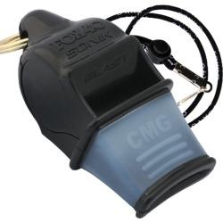 Fox 40 Fox40 Sonik Blast Cmg Whistle W/ Lanyard - Black - Swimoutlet.com