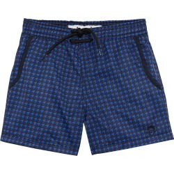 Mr. swim Boys' Houndstooth Swim Trunk Toddler/Little/Big Kid - Navy 2T - Swimoutlet.com