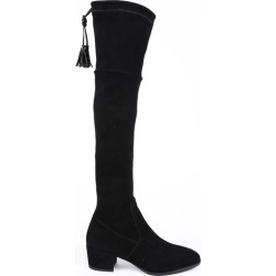 Henry Beguelin Black Suede Over the Knee Boots Black SZ: 5 found on MODAPINS from Luxury Garage Sale for USD $444.00