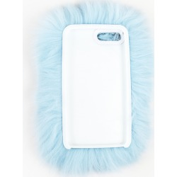 WILD AND WOOLLY Blue iPhone 6/6s Fur Case